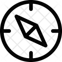 Compass Orientation Direction Icon