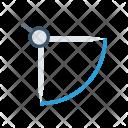 Measure Compass Tool Icon