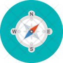 Compass Direction Find Icon