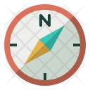 Compass North Direction Icon