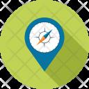 Compass Gps Location Icon