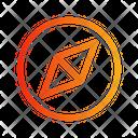 Compass circle Icon