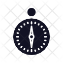 Compass Drawing Direction Icon