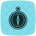 Compass Geometry Paint Icon