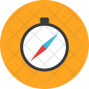 Compass Gps Navigator Vacation Icon