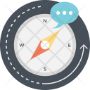 Compass Navigation Directions Icon