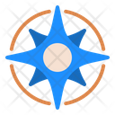 Compass Rose Compass Navigation Icon