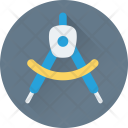 Compass Drawing Geometry Icon