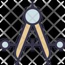 Compass Tool Measure Icon