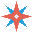 Compass wind rose Icon