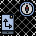 Compasses Sensor Direction Icon