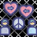 Compassion Empathy Peaceful Icon