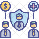 Compensation Coverage Insurance Icon