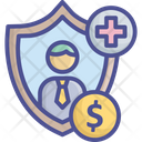 Compensation Coverage Employee Icon