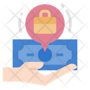 Compensation Wages Job Icon