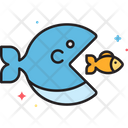 Fish Competition Business Icon