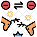 Competition Enemies Fighting Icon