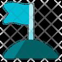 Career Achievement Flag Icon