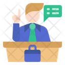 Competition Business Competitor Business Speaker Icon