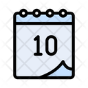 Competition Day Calendar Date Icon
