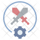 Competition Conflict Fighting Icon