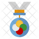 Competition Medal Icon