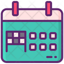Competitions Calendar Icon
