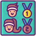 Competitions Score Ranking Icon