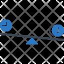 Competitive Evaluation Compare Icon