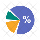 Competitor Anlysis Pie Chart Icon