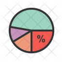 Competitor Analysis Pie Chart Icon