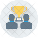 Competitors Trophy Award Icon