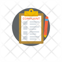 Complaint Query Claim Petition Icon