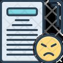 Complaint Grievance Jeremiad Icon