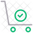 Shipping Delivery Trolley Icon