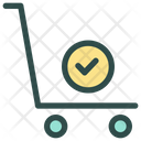 Trolley Delivery Shipping Icon