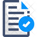 Complete Paper Approved File File Icon