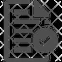 Complete Paper Icon