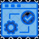 World Web Browser Process Icon