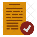 Complete Data Document Icon