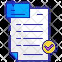 Survey Form Test Icon