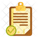Merror Report Completed Survey Survey Icon
