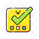 Completed Tasks Tick Icon