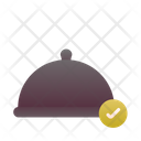Completely Food Cloche Dish Icon