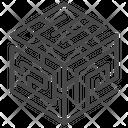 Complex Research Data Complex Data Icon