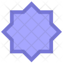 Complex Polygon Form Icon