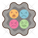 Complex Emotion Behavior Emoji Icon