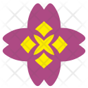 Complex Bud Flower Icon