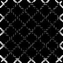 Complex Square Labirint Icon