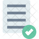 Compliancev Compliance Approved Note Icon
